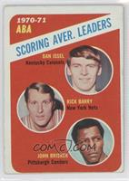 ABA Scoring Aver. Leaders (Dan Issel, Rick Barry, John Brisker) [Good to&n…