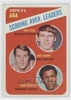 ABA Scoring Aver. Leaders (Dan Issel, Rick Barry, John Brisker) [Altered]
