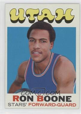 1971-72 Topps #178 - Ron Boone