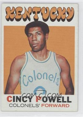 1971-72 Topps #207 - Cincy Powell