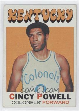 1971-72 Topps #207 - Cincy Powell [GoodtoVG‑EX]