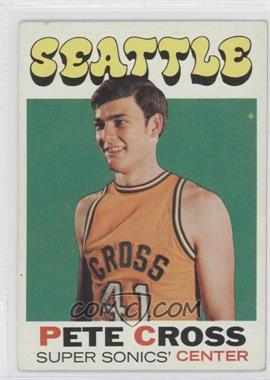 1971-72 Topps #33 - Pete Cross