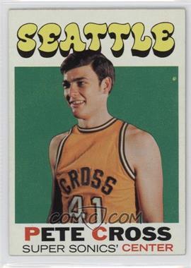 1971-72 Topps #33 - Pete Cross