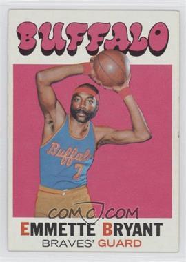 1971-72 Topps #48 - Em Bryant