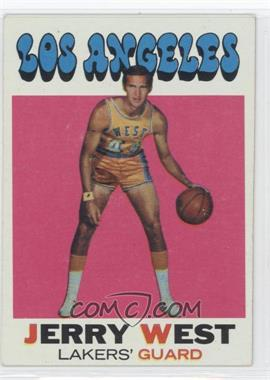 1971-72 Topps #50 - Jerry West