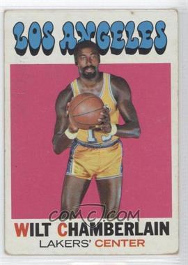 1971-72 Topps #70 - Wilt Chamberlain