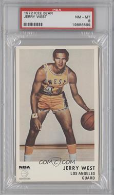 1972-73 Icee Bear #N/A - Jerry West [PSA 8]