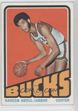 1972-73 Topps - [Base] #100 - Kareem Abdul-Jabbar
