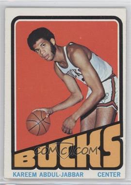 1972-73 Topps #100 - Kareem Abdul-Jabbar