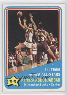 1972-73 Topps #163 - Kareem Abdul-Jabbar