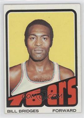 1972-73 Topps #17 - Bill Bridges