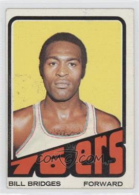 1972-73 Topps #17 - Bill Bridges [GoodtoVG‑EX]