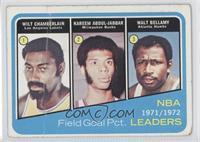 Wilt Chamberlain, Kareem Abdul-Jabbar, Walt Bellamy [PoortoFair]