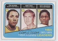 Lenny Wilkens, Jerry West, Nate Archibald