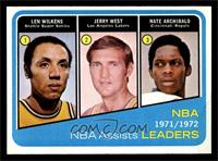 Lenny Wilkens, Jerry West, Nate Archibald [NM MT]