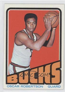 1972-73 Topps #25 - Oscar Robertson