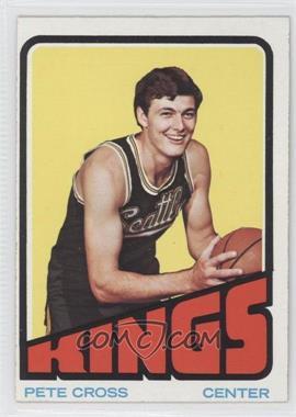 1972-73 Topps #49 - Pete Cross