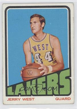 1972-73 Topps #75 - Jerry West