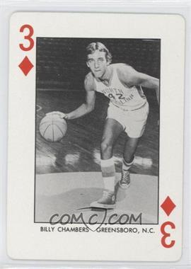 1973-74 North Carolina Playing Cards - [Base] - Blue Back #N/A - Bill Chamberlain
