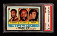 Wilt Chamberlain, Nate Thurmond, Dave Cowens, Los Angeles Lakers Team [PSA&nbsp…