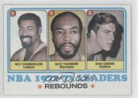 Wilt Chamberlain, Nate Thurmond, Dave Cowens, Los Angeles Lakers Team