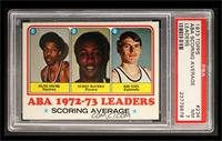 Julius Erving, George McGinnis, Dan Issel [PSA 7]