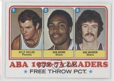 1973-74 Topps - [Base] #237 - Bill Keller, Ron Boone, Bob Warren