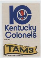 Kentucky Colonels, Memphis Tams