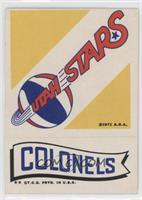 Utah Stars, Kentucky Colonels [GoodtoVG‑EX]