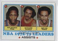 Dave Bing, Nate Archibald, Len Wilkens