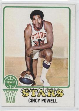 1973-74 Topps #186 - Cincinnatus Powell [Good to VG‑EX]