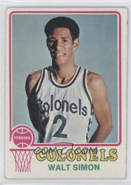1973-74 Topps #218 - Walter Simon [Good to VG‑EX]