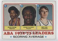 Julius Erving, George McGinnis, Dan Issel [Good to VG‑EX]