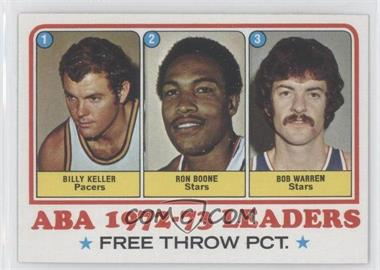 1973-74 Topps #237 - Bill Keller, Ron Boone, Bob Warren