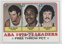 Bill Keller, Ron Boone, Bob Warren