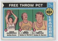 Ernie DiGregorio, Rick Barry, Jeff Mullins [Good to VG‑EX]