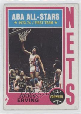 1974-75 Topps - [Base] #200 - ABA All-Stars (Julius Erving) [GoodtoVG‑EX]