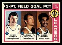 Louie Dampier, Bill Keller, Roger Brown [NM]