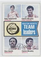 Rudy Tomjanovich, Calvin Murphy, Don Smith [Good to VG‑EX]