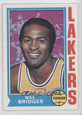 1974-75 Topps #13 - Bill Bridges