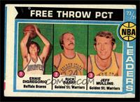 Ernie DiGregorio, Rick Barry, Jeff Mullins [GOOD]