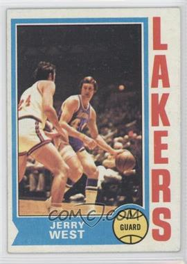 1974-75 Topps #176 - Jerry West