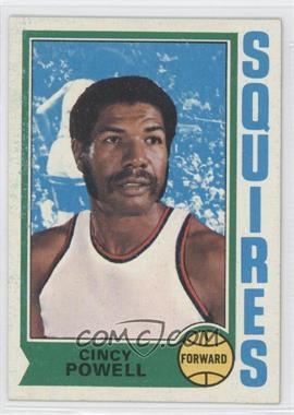 1974-75 Topps #198 - Cincinnatus Powell
