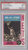 ABA All-Stars (Julius Erving) [PSA 7]