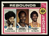 ABA Rebound Leaders (Artis Gilmore, George McGinnis, Caldwell Jones) [NM]