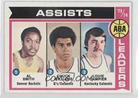 Al Smith, Chuck Williams, Louie Dampier