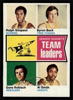 Ralph Simpson, Byron Beck, Dave Robisch, Al Smith [EXMT]