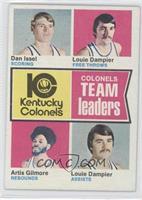 Dan Issel, Louie Dampier, Artis Gilmore