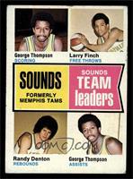 George Thompson, Larry Finch, Randy Denton [VG]