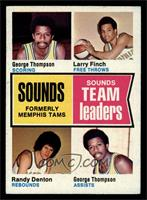 George Thompson, Larry Finch, Randy Denton [EX MT]